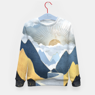 Thumbnail image of Bright Future II Kid's sweater, Live Heroes