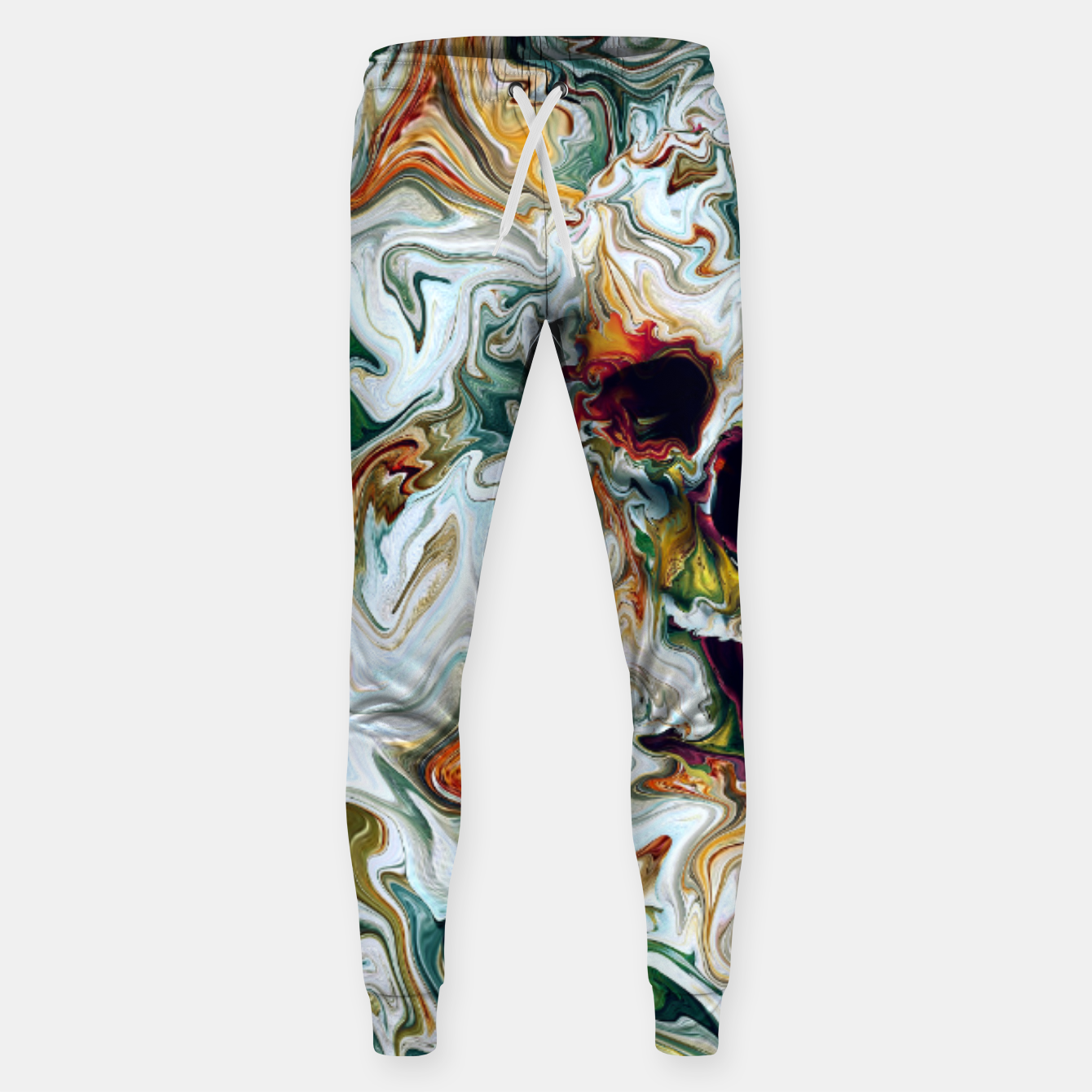 Foto Skull Cotton sweatpants - Live Heroes