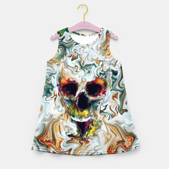 Skull Girl's summer dress Bild der Miniatur