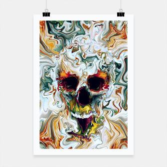 Thumbnail image of Skull Poster, Live Heroes