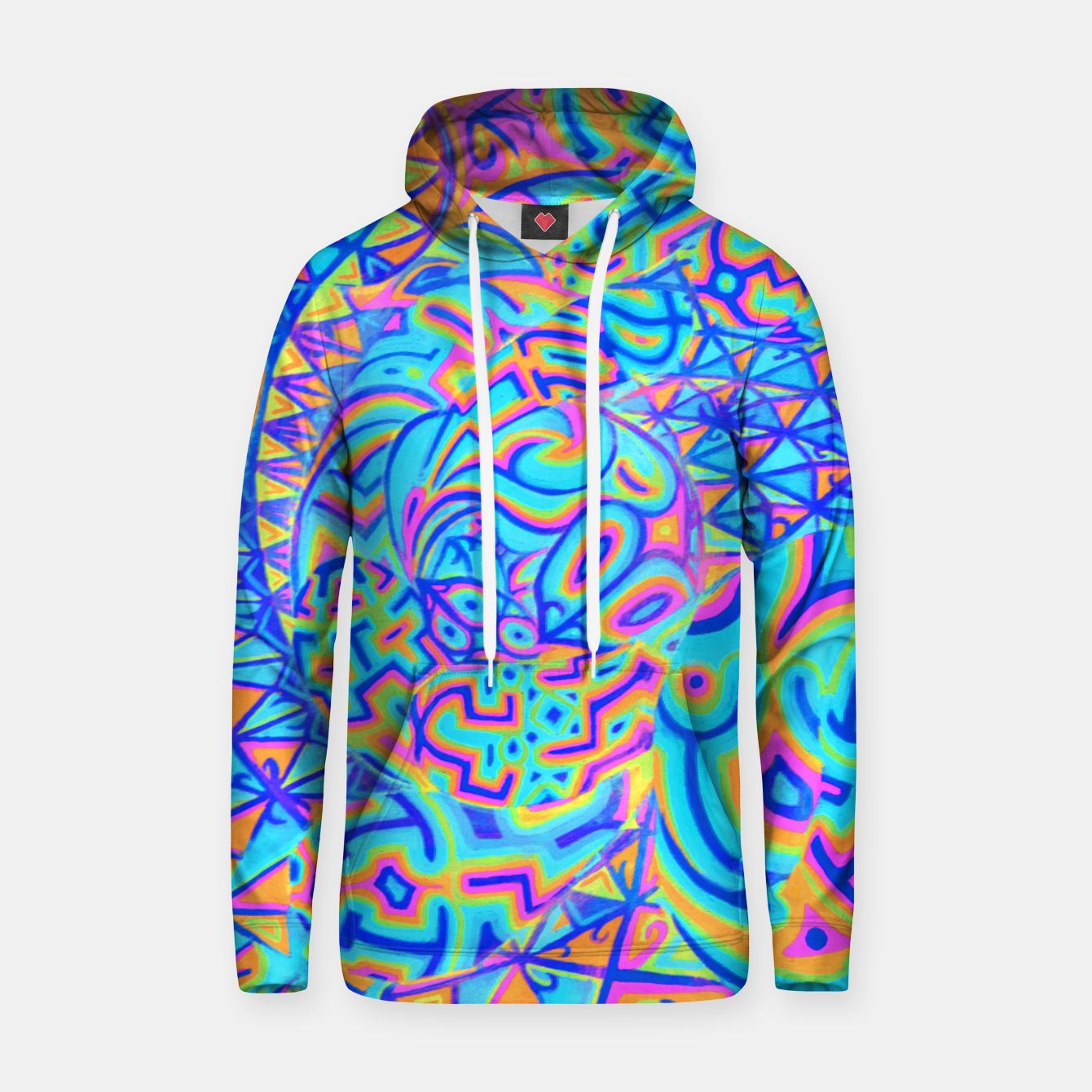 Image of Cool Light Portal Cotton hoodie - Live Heroes