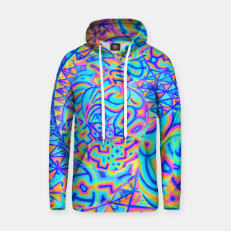 Thumbnail image of Cool Light Portal Cotton hoodie, Live Heroes