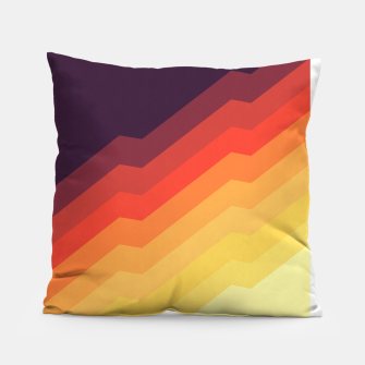 Thumbnail image of Geometric colorful art VII Pillow, Live Heroes