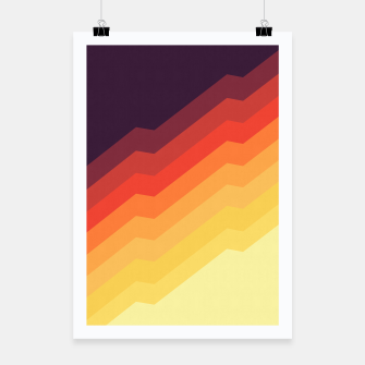 Thumbnail image of Geometric colorful art VII Poster, Live Heroes