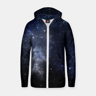 Thumbnail image of Star Cloud Nebula Cotton zip up hoodie, Live Heroes