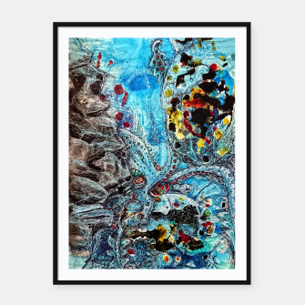 Thumbnail image of Under the sea Framed poster, Live Heroes