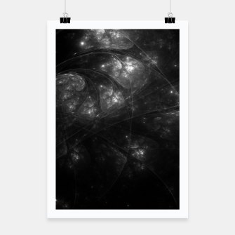 Thumbnail image of Nebula Space Nerve Poster, Live Heroes