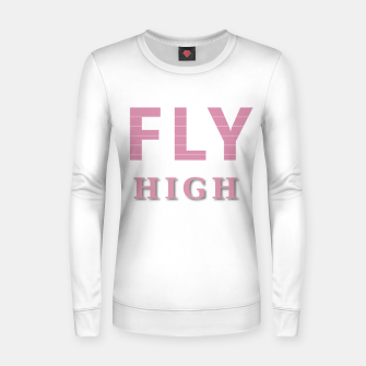 Miniature de image de Fly High Woman cotton sweater, Live Heroes
