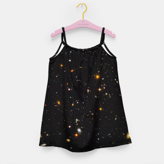 Thumbnail image of Beautiful Universe Ultraviolet Deepfield Galaxy Universe Star Map Girl's dress, Live Heroes