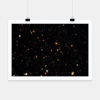 Thumbnail image of Beautiful Universe Ultraviolet Deepfield Galaxy Universe Star Map Poster, Live Heroes