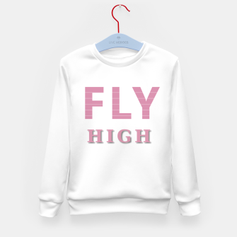 Miniature de image de Fly High Kid's sweater, Live Heroes