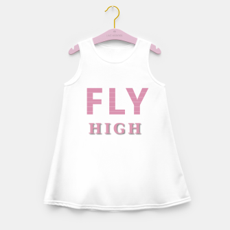 Miniature de image de Fly High Girl's summer dress, Live Heroes