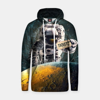 Thumbnail image of Ticket Cotton hoodie, Live Heroes