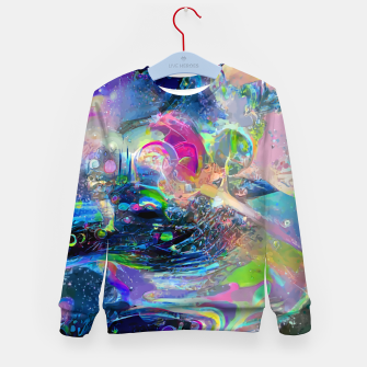 Thumbnail image of Reach Kid's sweater, Live Heroes