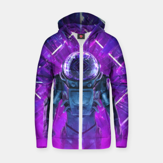Entering The Unknown Cotton zip up hoodie thumbnail image