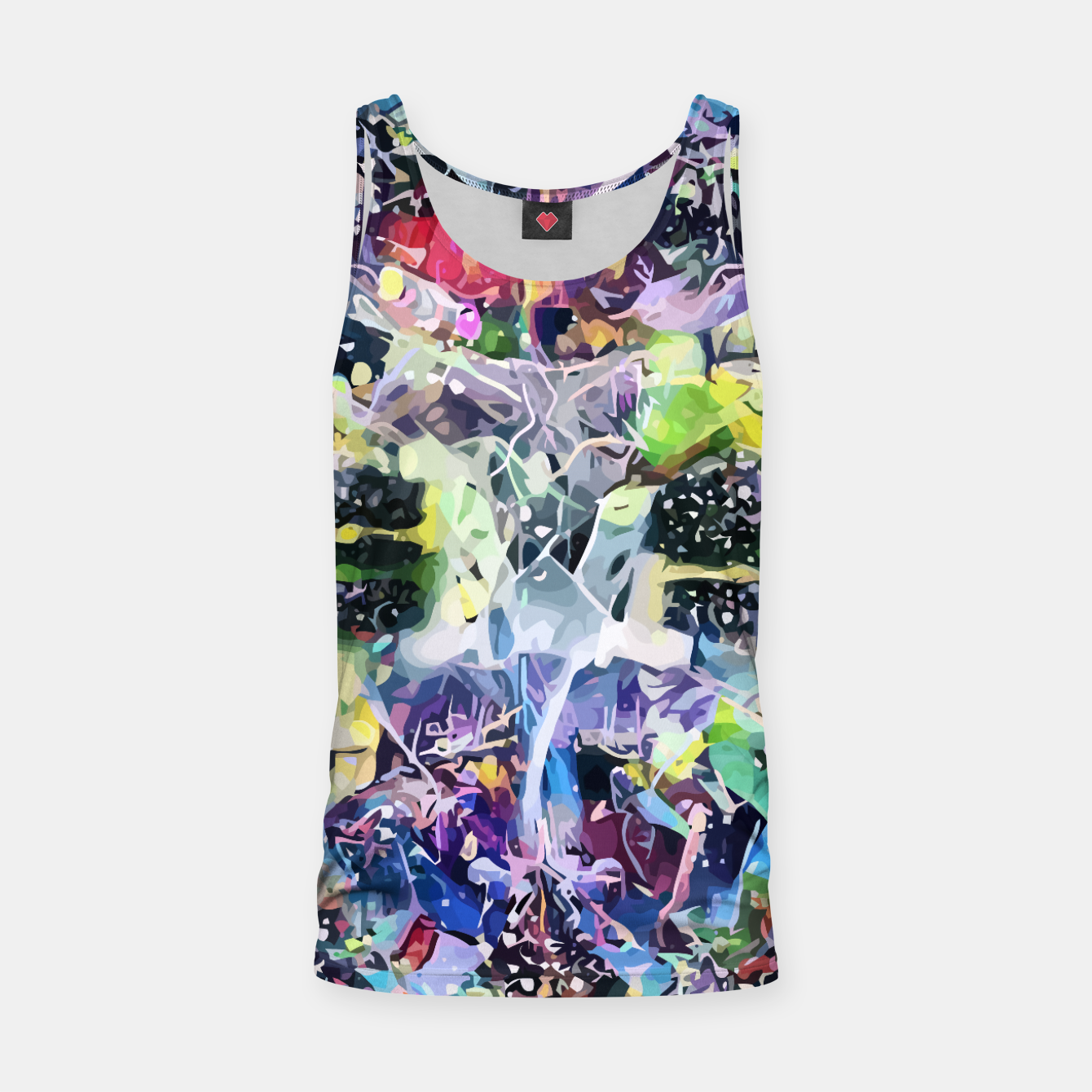 Image of Crow's Paintbrush Tank Top - Live Heroes
