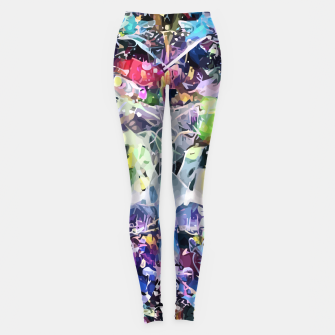 Thumbnail image of Crow's Paintbrush Leggings, Live Heroes