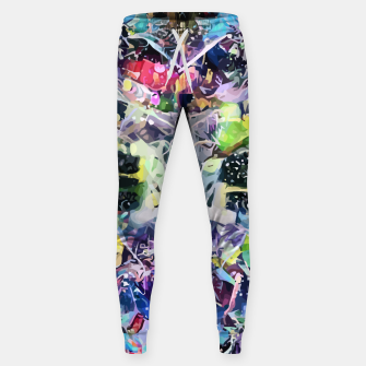 Crow's Paintbrush Cotton sweatpants thumbnail image