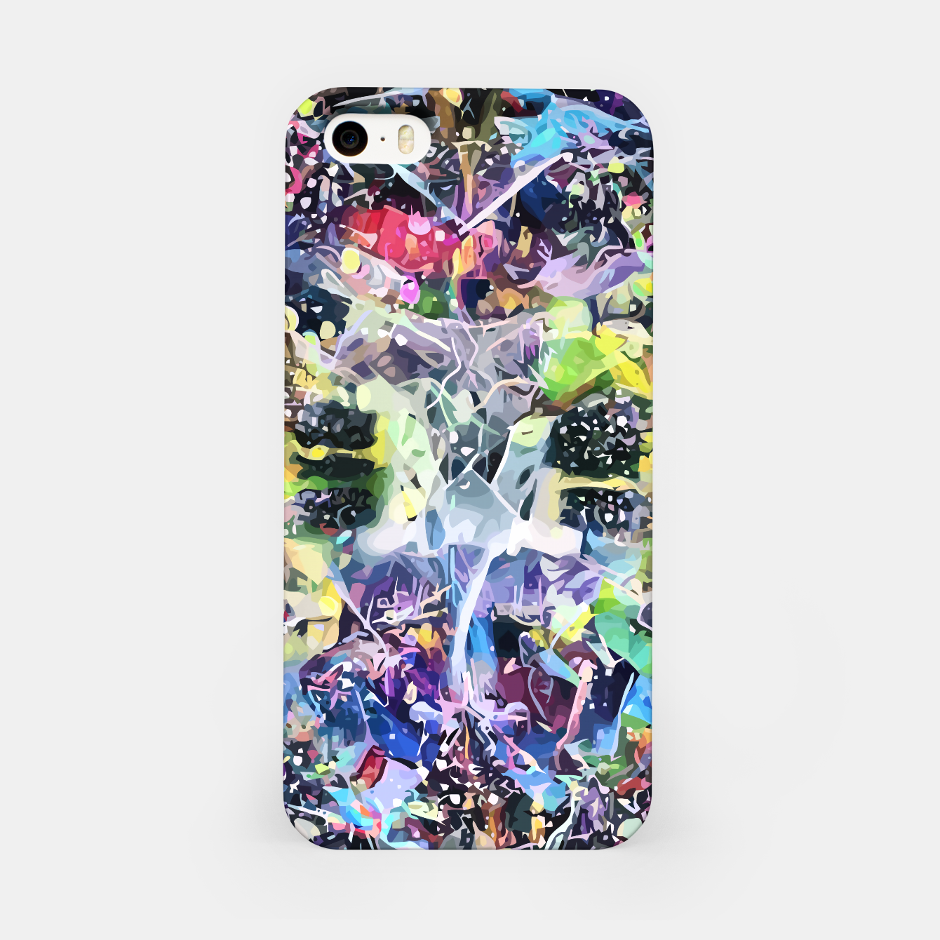 Image of Crow's Paintbrush iPhone Case - Live Heroes