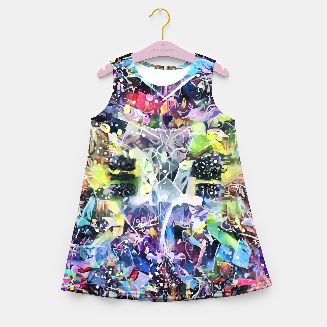 Image of Crow's Paintbrush Girl's summer dress - Live Heroes