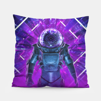 Thumbnail image of Entering The Unknown Pillow, Live Heroes