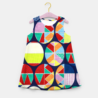 Imagen en miniatura de African pattern Girl's summer dress, Live Heroes