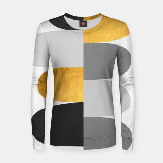 Miniature de image de Gold and gray arches I Woman cotton sweater, Live Heroes