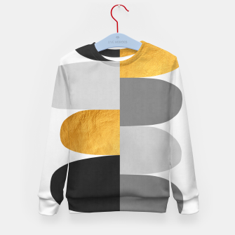 Miniature de image de Gold and gray arches I Kid's sweater, Live Heroes