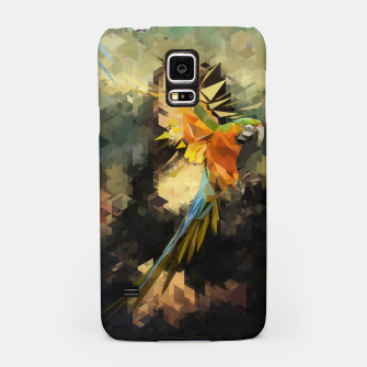 Thumbnail image of Parrot Distortion Samsung Case, Live Heroes