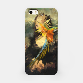 Thumbnail image of Parrot Distortion iPhone Case, Live Heroes