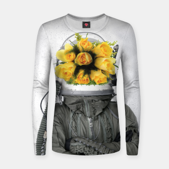 Imagen en miniatura de Rose Head  Woman cotton sweater, Live Heroes