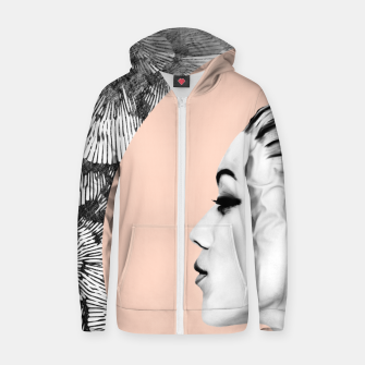 Thumbnail image of Inner Beauty IV Cotton zip up hoodie, Live Heroes