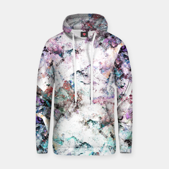 Miniaturka The mountains in the textures Cotton hoodie, Live Heroes