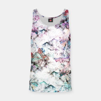 Miniature de image de The mountains in the textures Tank Top, Live Heroes