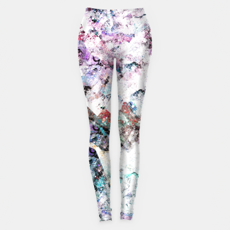 Miniaturka The mountains in the textures Leggings, Live Heroes
