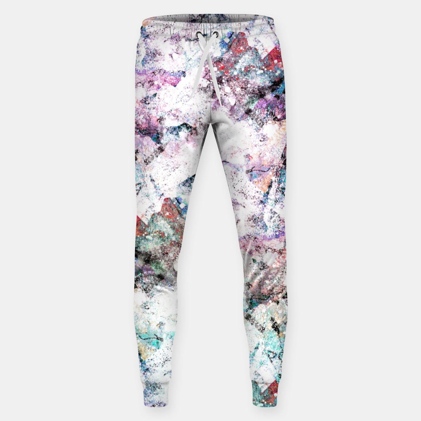 Image of The mountains in the textures Cotton sweatpants - Live Heroes