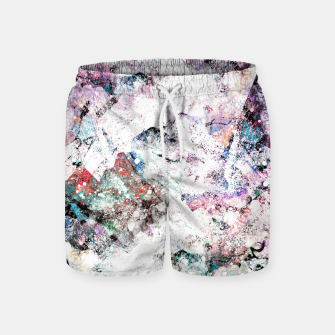 Miniaturka The mountains in the textures Swim Shorts, Live Heroes