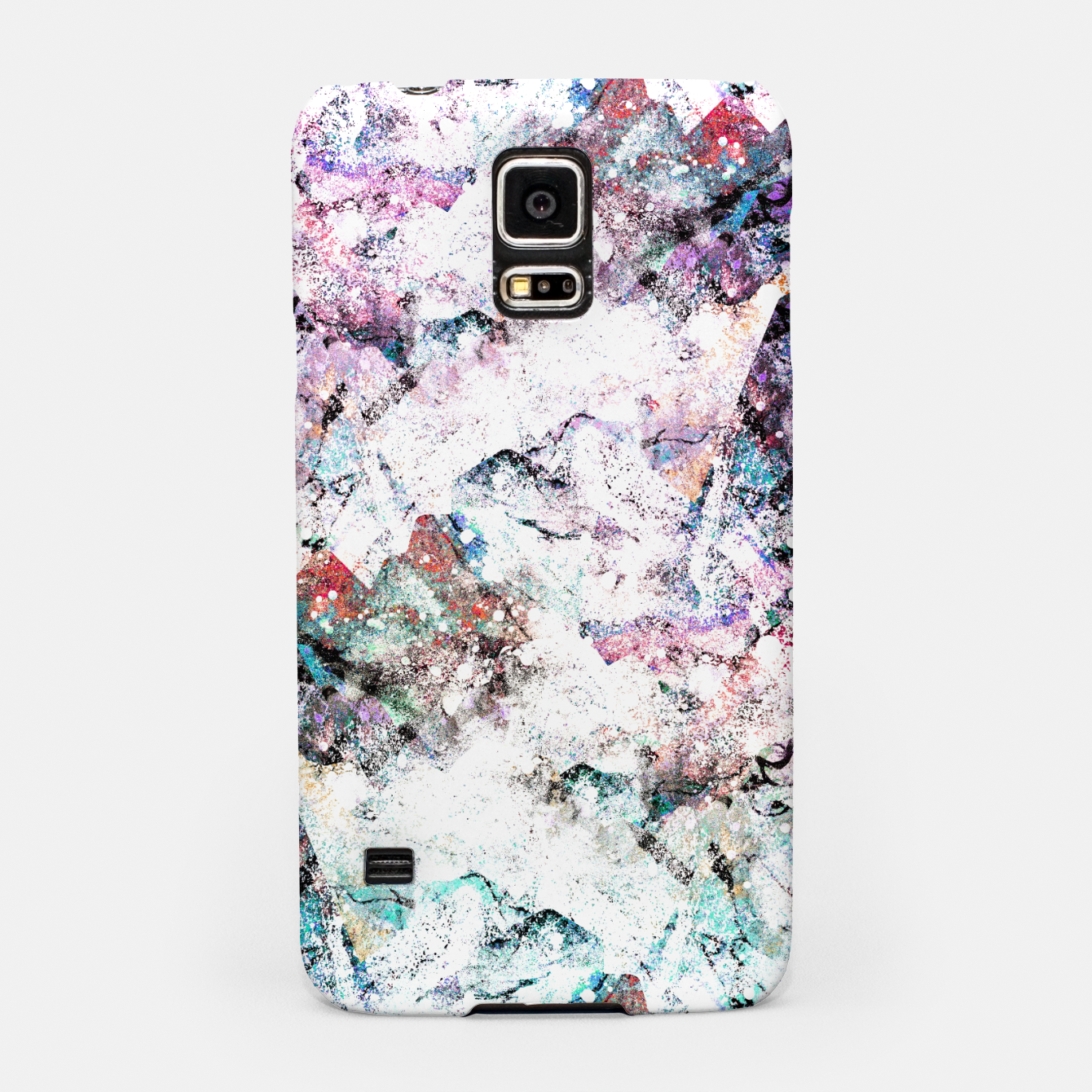 Image of The mountains in the textures Samsung Case - Live Heroes