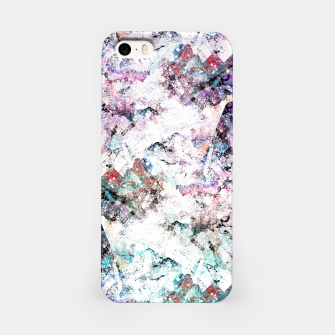 Miniature de image de The mountains in the textures iPhone Case, Live Heroes