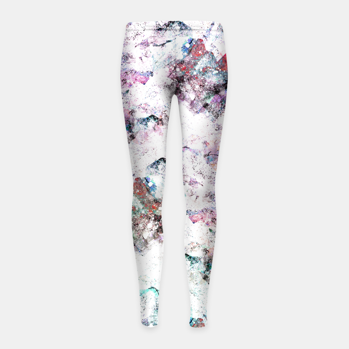 Image of The mountains in the textures Girl's leggings - Live Heroes