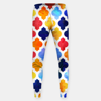 Imagen en miniatura de Marrakesh Moroccan red and blue Cotton sweatpants, Live Heroes