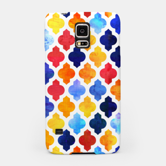 Imagen en miniatura de Marrakesh Moroccan red and blue Samsung Case, Live Heroes