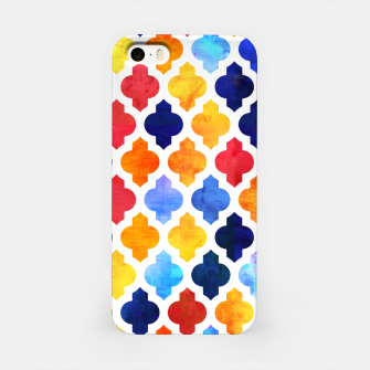 Imagen en miniatura de Marrakesh Moroccan red and blue iPhone Case, Live Heroes