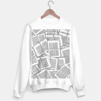 Thumbnail image of Literary Overload Sweater regular, Live Heroes