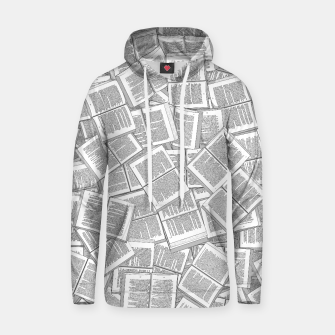 Thumbnail image of Literary Overload Cotton hoodie, Live Heroes