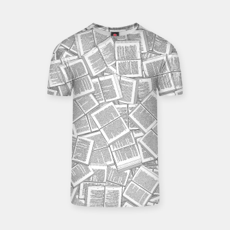 Thumbnail image of Literary Overload T-shirt, Live Heroes