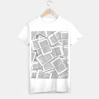 Thumbnail image of Literary Overload T-shirt regular, Live Heroes