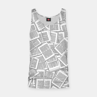 Thumbnail image of Literary Overload Tank Top, Live Heroes