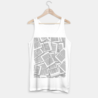 Thumbnail image of Literary Overload Tank Top regular, Live Heroes