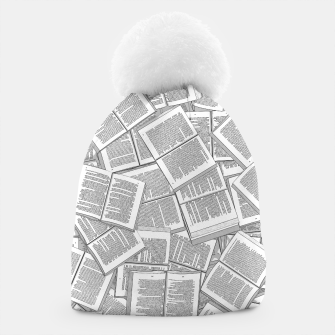 Thumbnail image of Literary Overload Beanie, Live Heroes